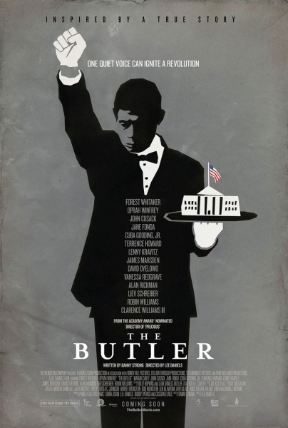 "Nuevos poster promocional de ""The Butler"" protagonizada por Forest Whitaker, Oprah Winfrey, Jhon Cusack, Jane Fonda…"