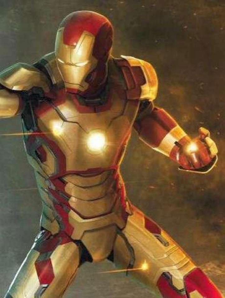Concept art de IronMan 3.