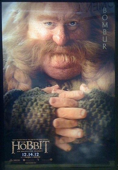 """""""EL HOBBIT"""" poster de Bombur."""