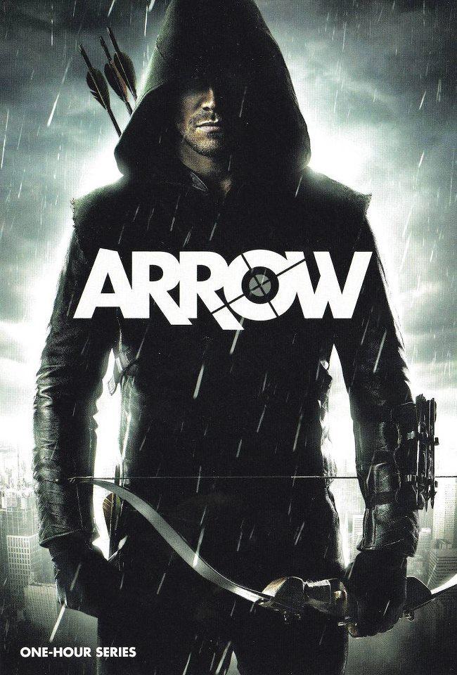 """Poster de """"ARROW"""" la nueva serie sobre Flecha Verde."""