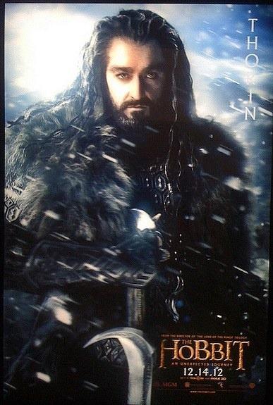 """EL HOBBIT"" poster de Thorin."