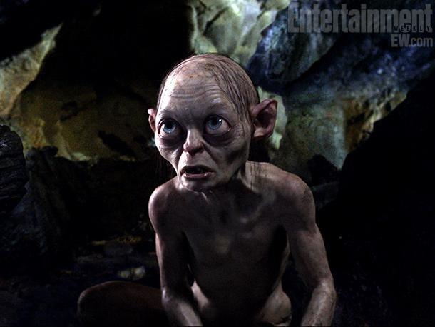 """Imagen de Gollum en """"EL HOBBIT"""""""