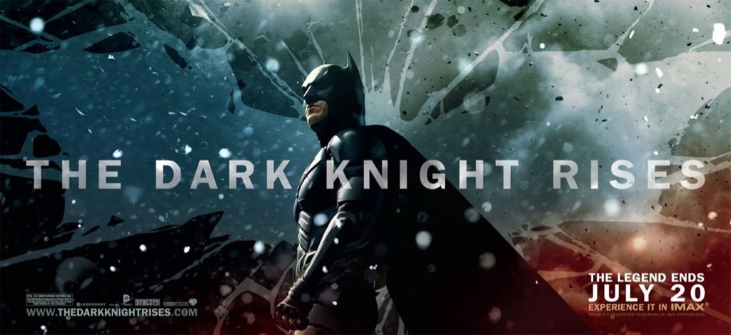 "Batman en un nuevo poster de ""THE DARK KNIGHT RISES"""