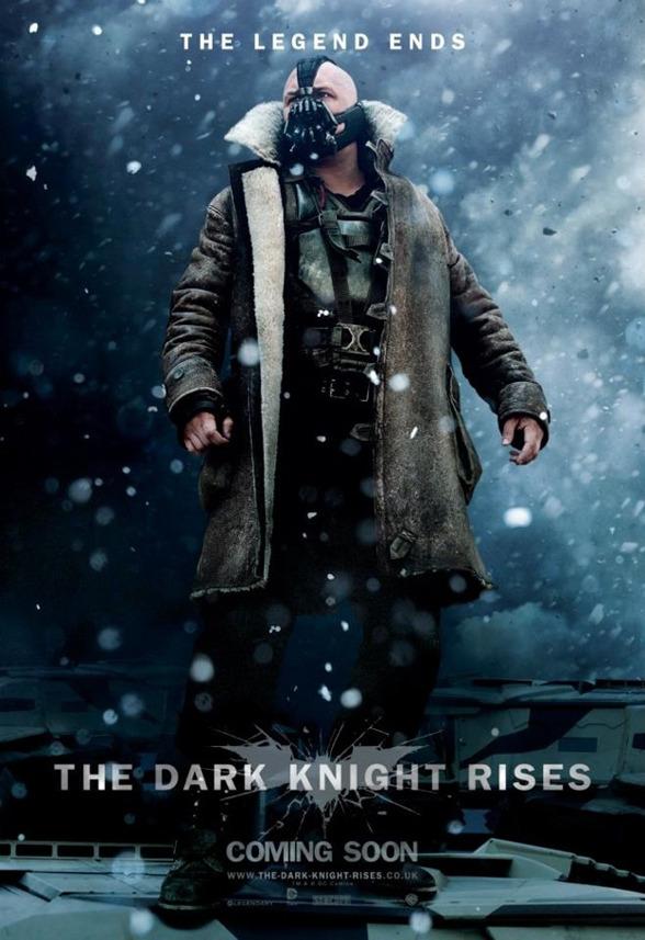 "Otro poster de Bane en ""THE DARK KNIGHT RISES"""