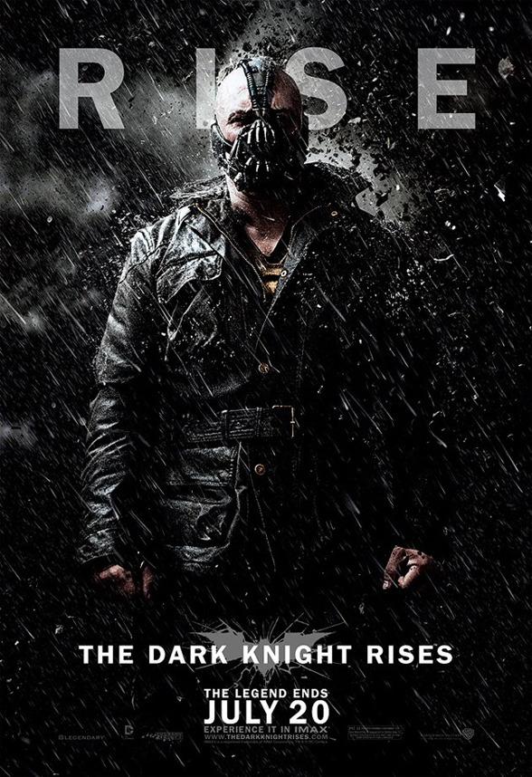 """Nuevo poster de Bane en """"THE DARK KNIGHT RISES"""""""