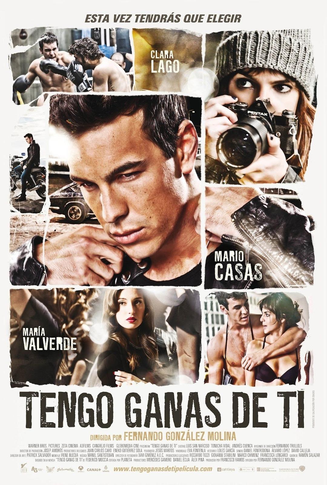 """Poster de """"TENGO GANAS DE TI"""""""