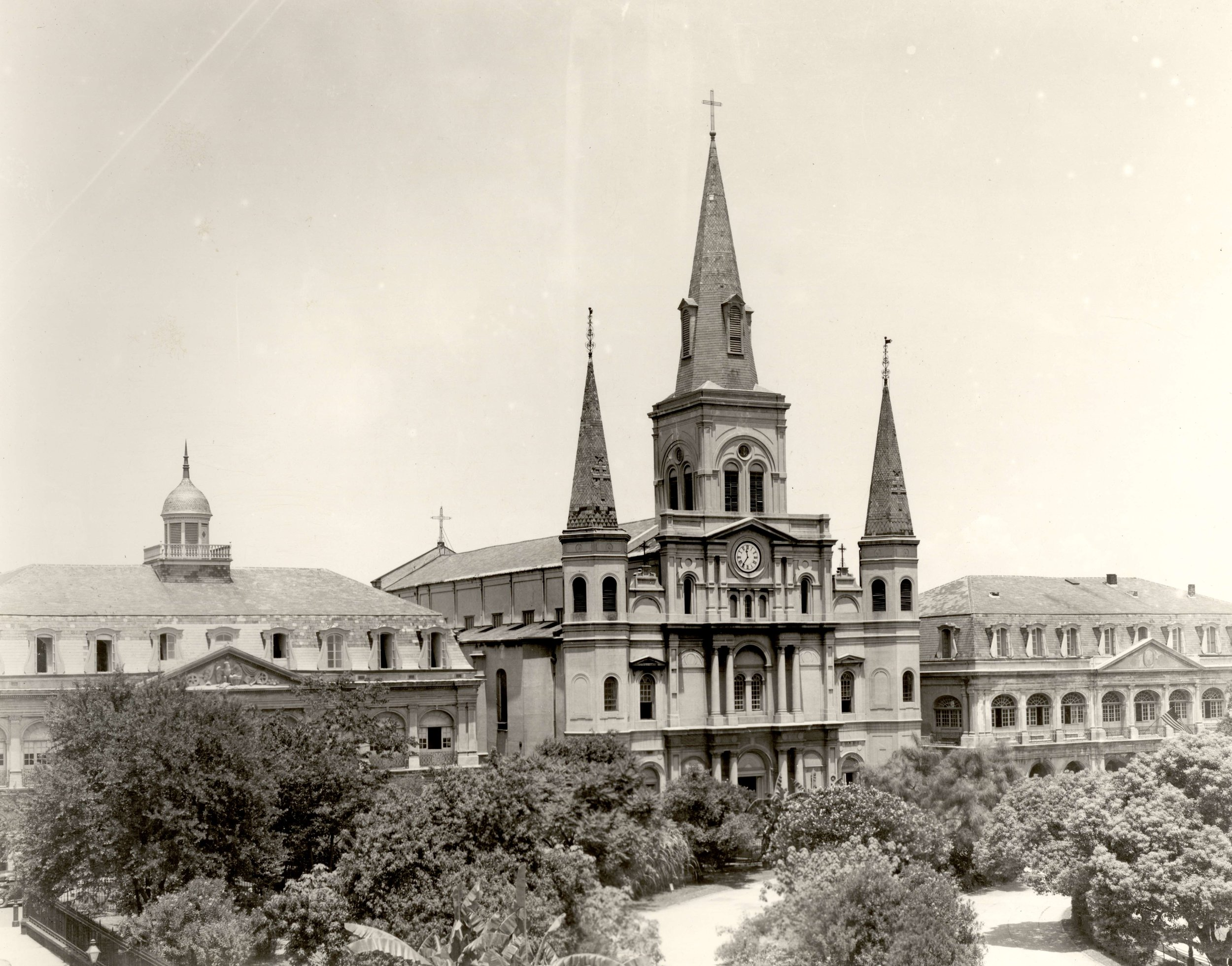 Saint Louis Cathedral 1950