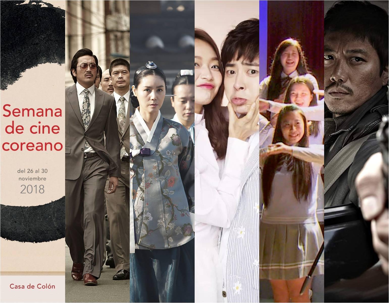 Semana de cine coreano 2018 - Casa de Colón. 26 al 30 noviembre 2018