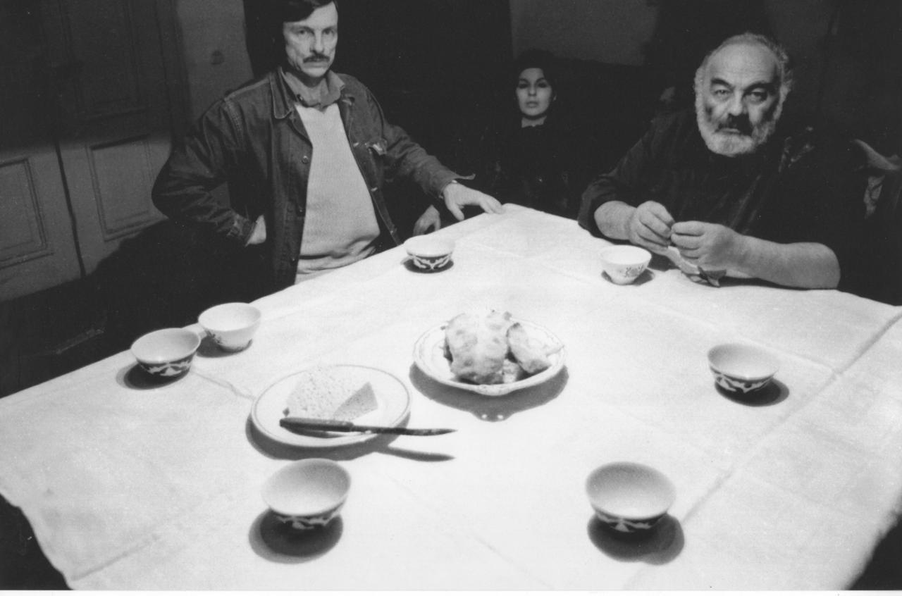 Andrei Tarkovsky y Sergei Parajanov