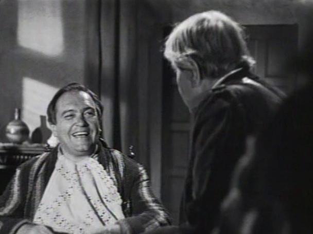 Juan Pulido en un fotograma de 'Dicen que soy mujeriego' (1949)