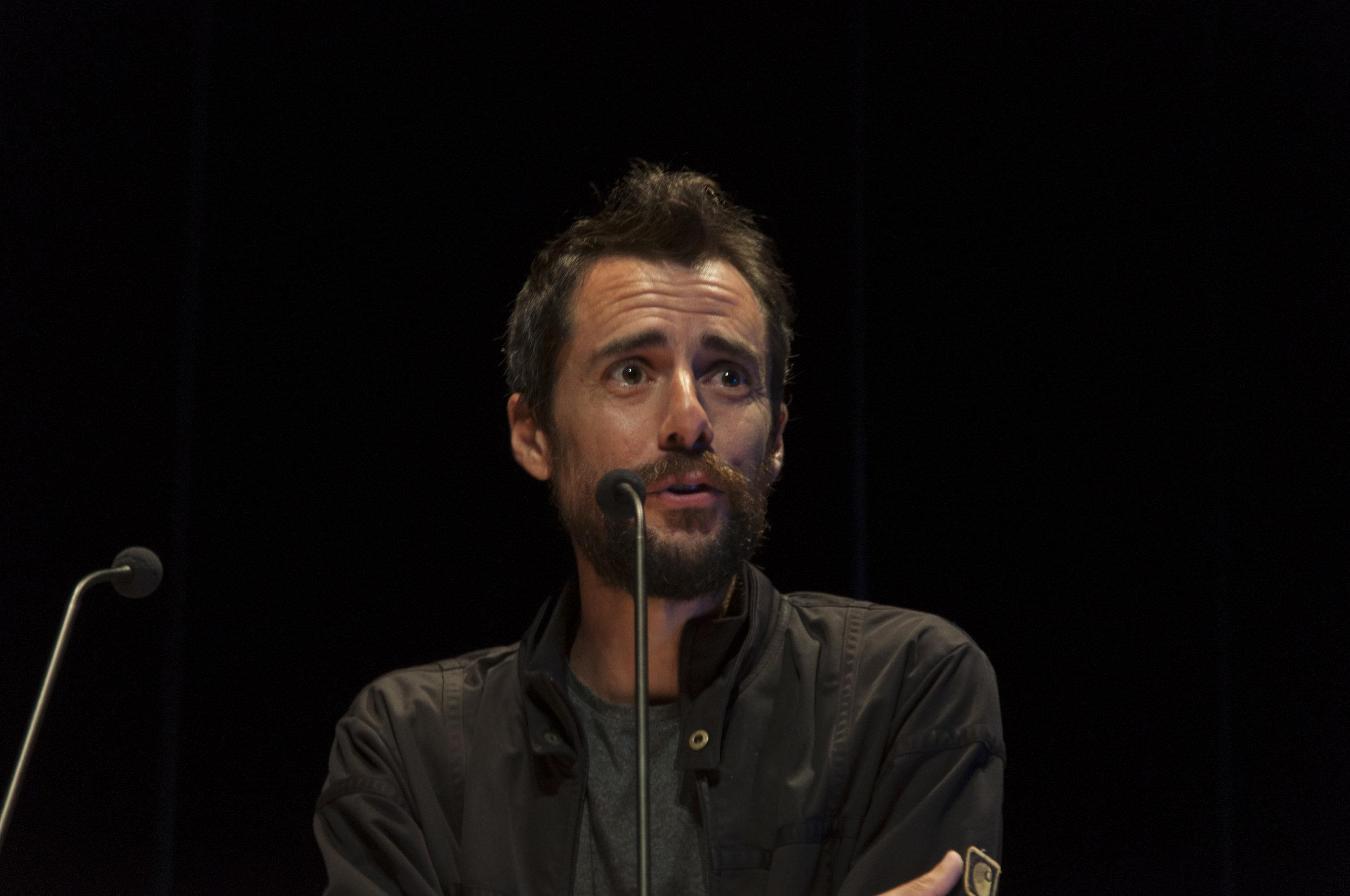 El cineasta Oscar Santamaría, ganador de Visionaria 2019.