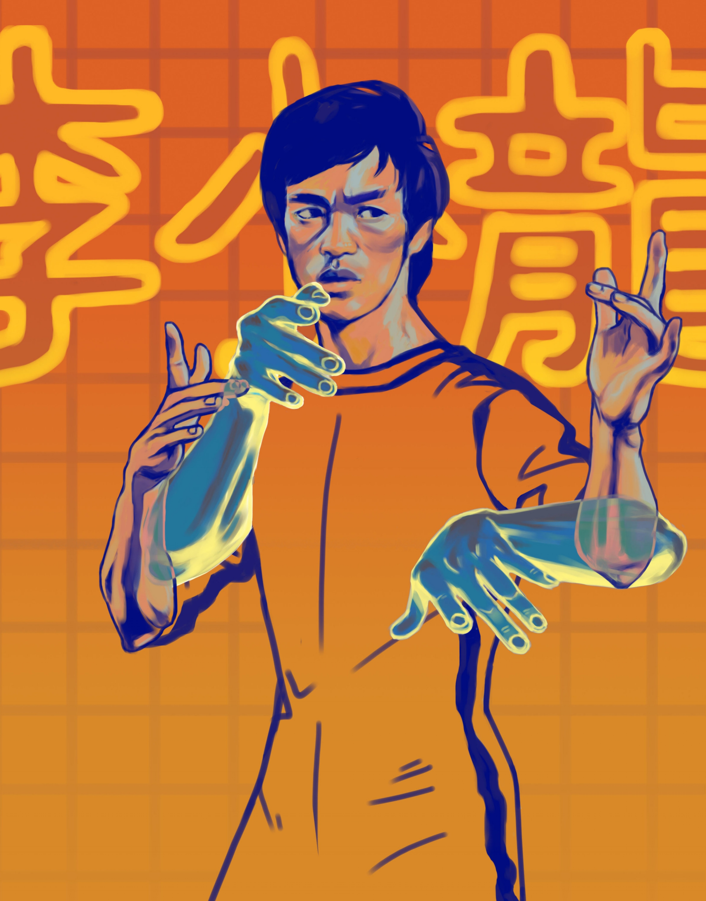 Kung Fu Masters Tribute: Bruce Lee