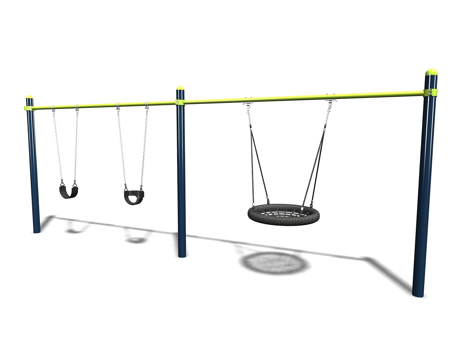 Omni Swing - 2 Bay