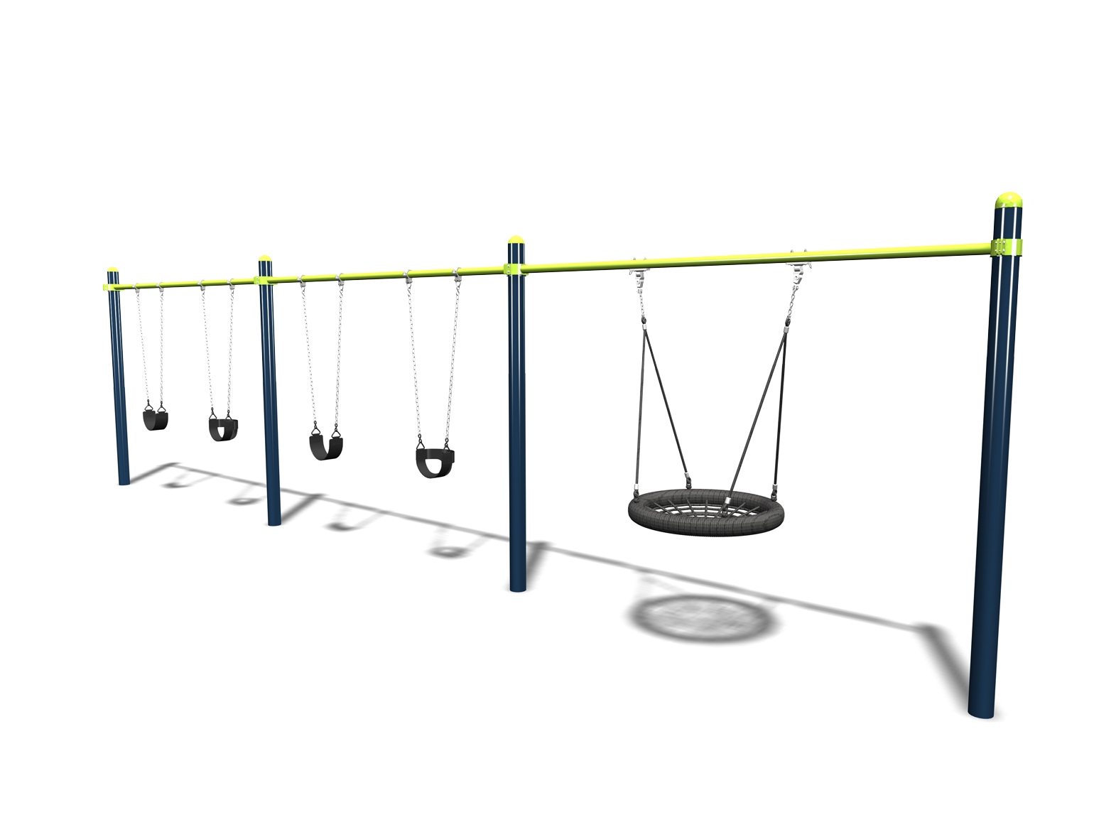 Omni Swing - 3 Bay