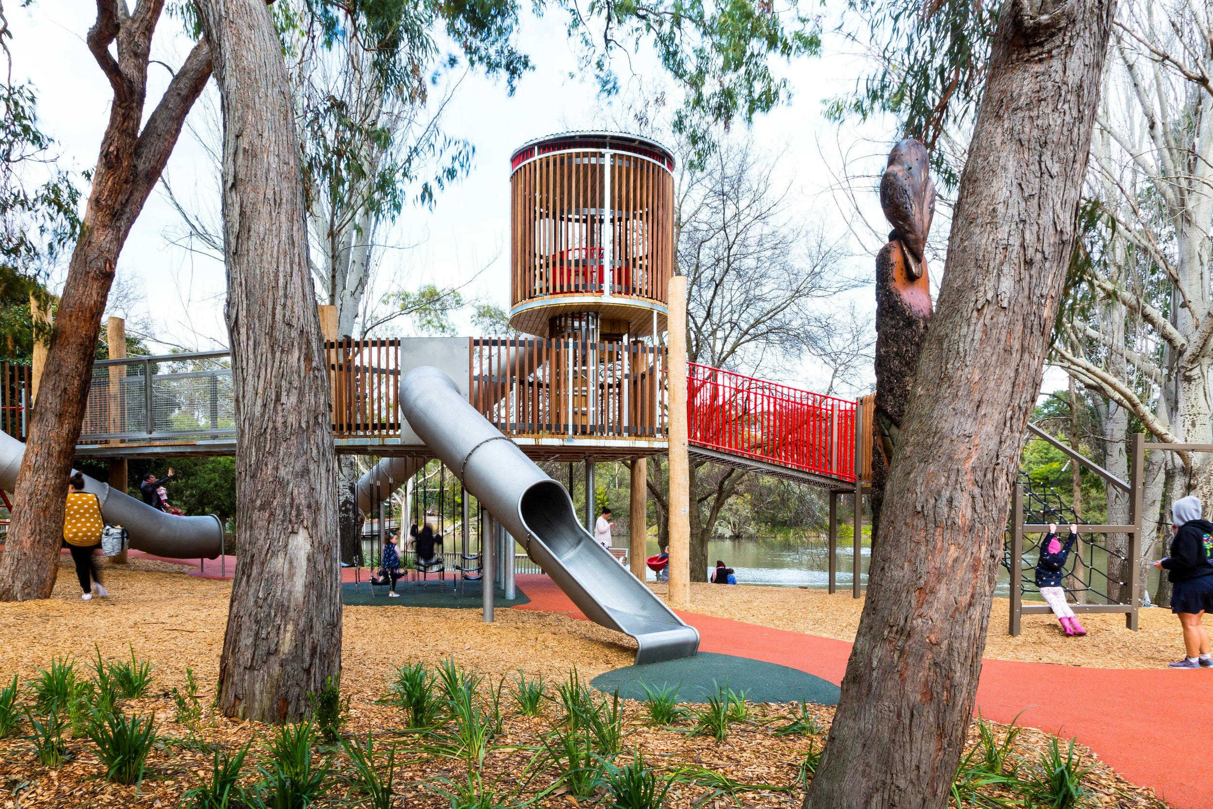 Ringwood Lake custom playground was a challenge but the end result was worth it.