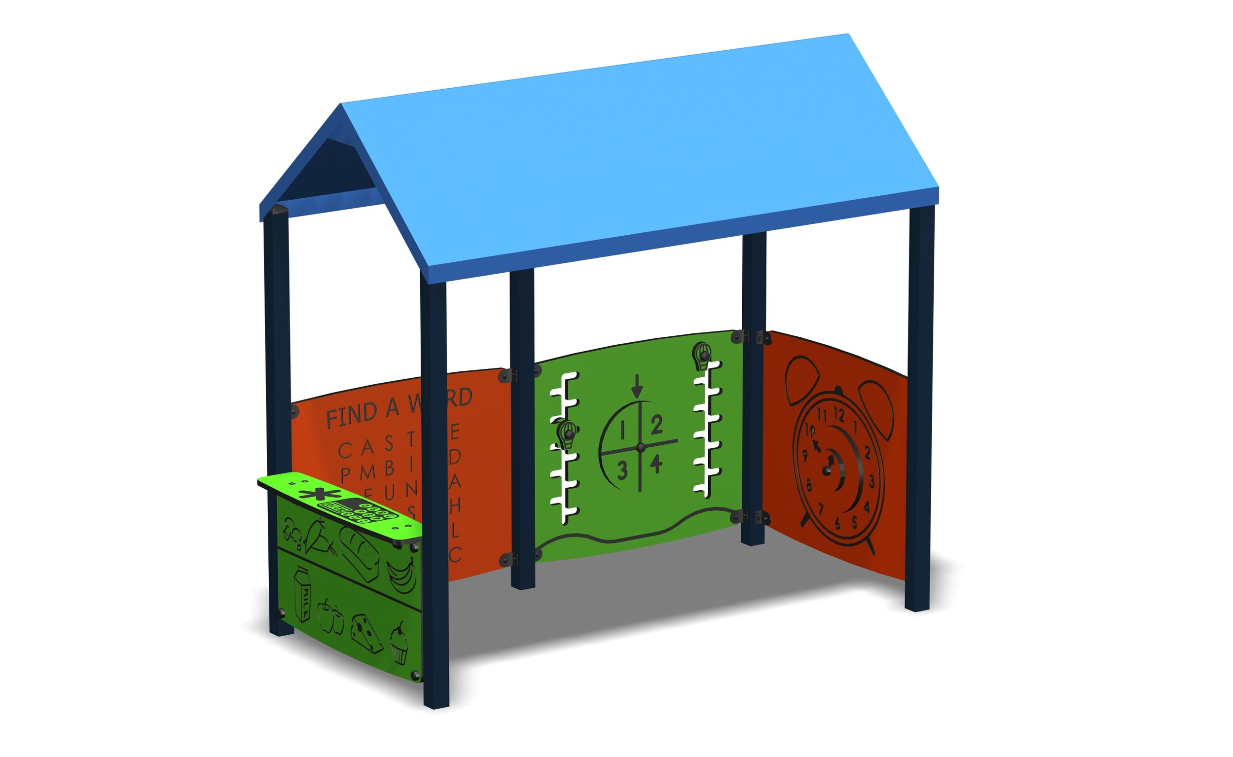 One of Omnitechs sensory huts