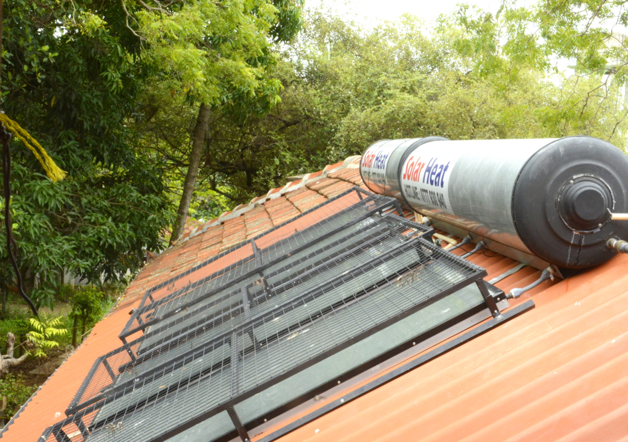 Solar Heated Hot Water for All