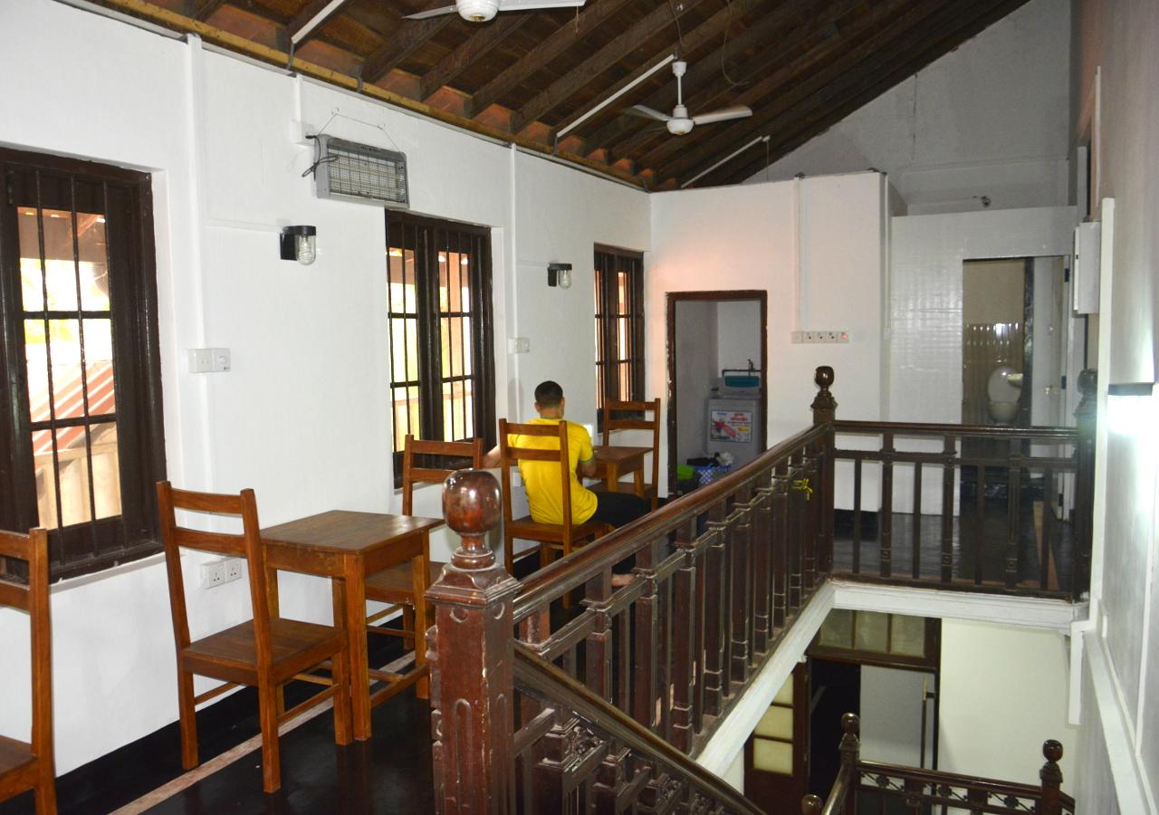 The Upper Hallway Between the Dorm Rooms