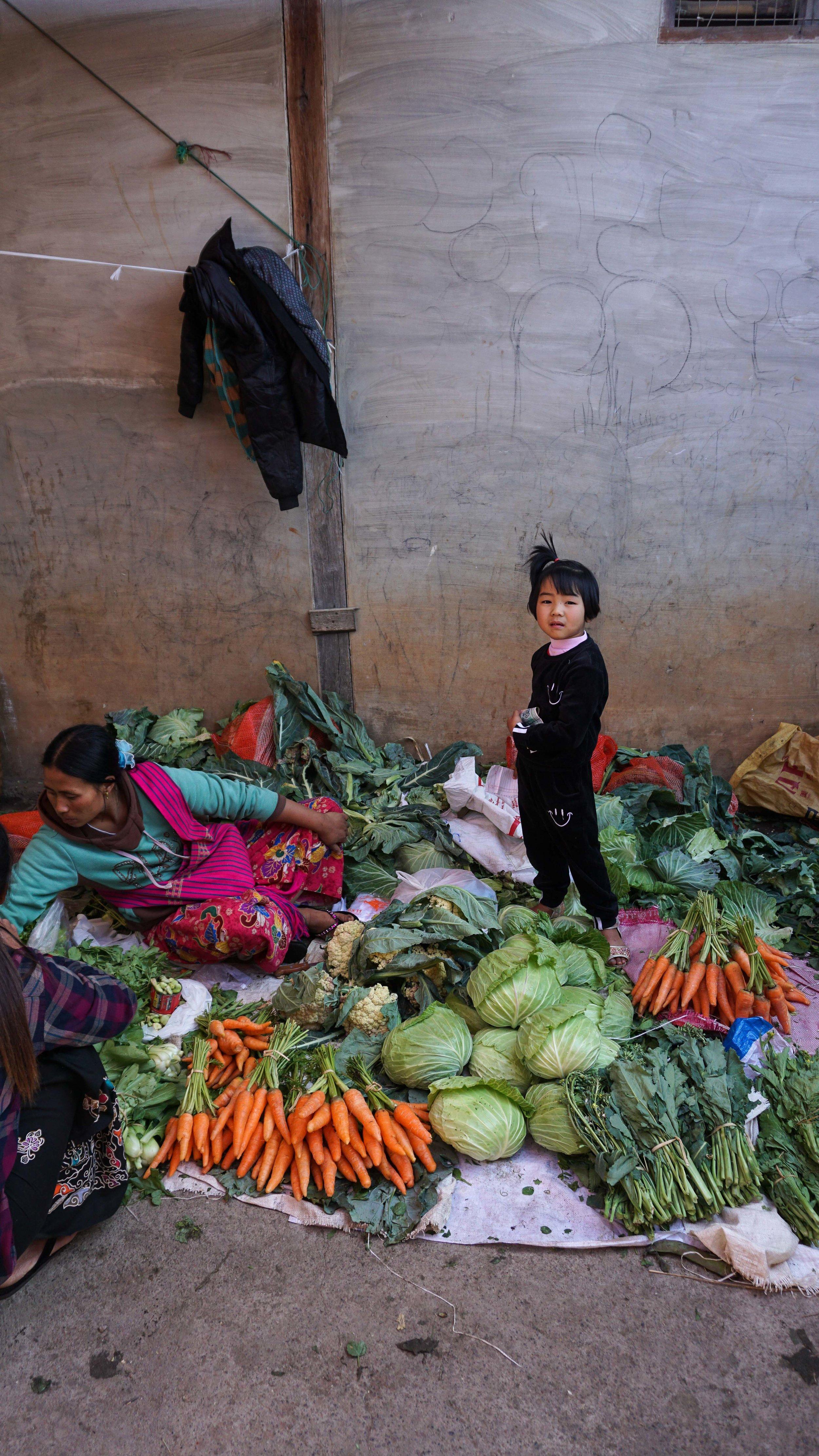 Market day at Inle Lake