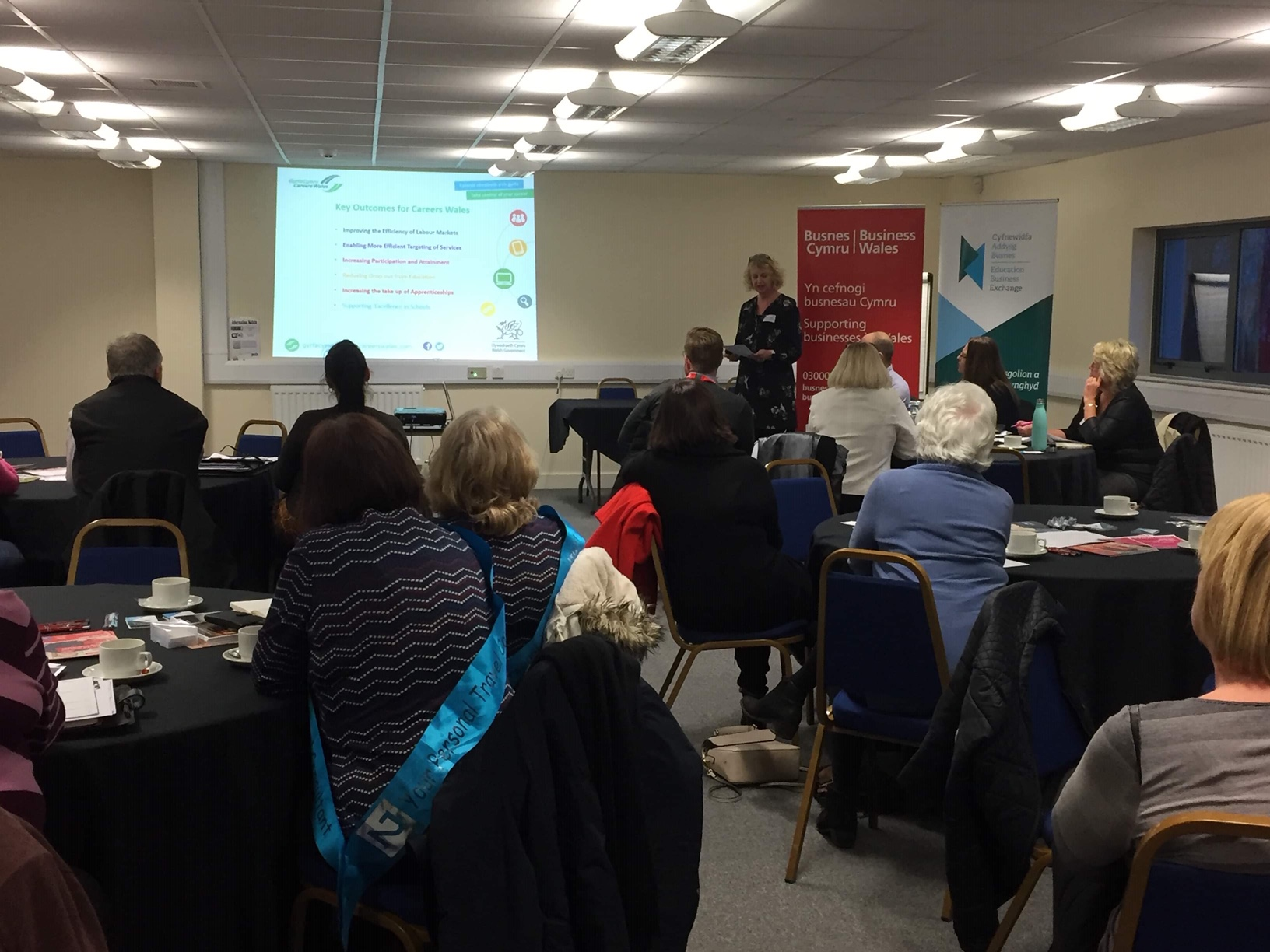 Jacky Jones, Business Engagement Advisor, Careers Wales