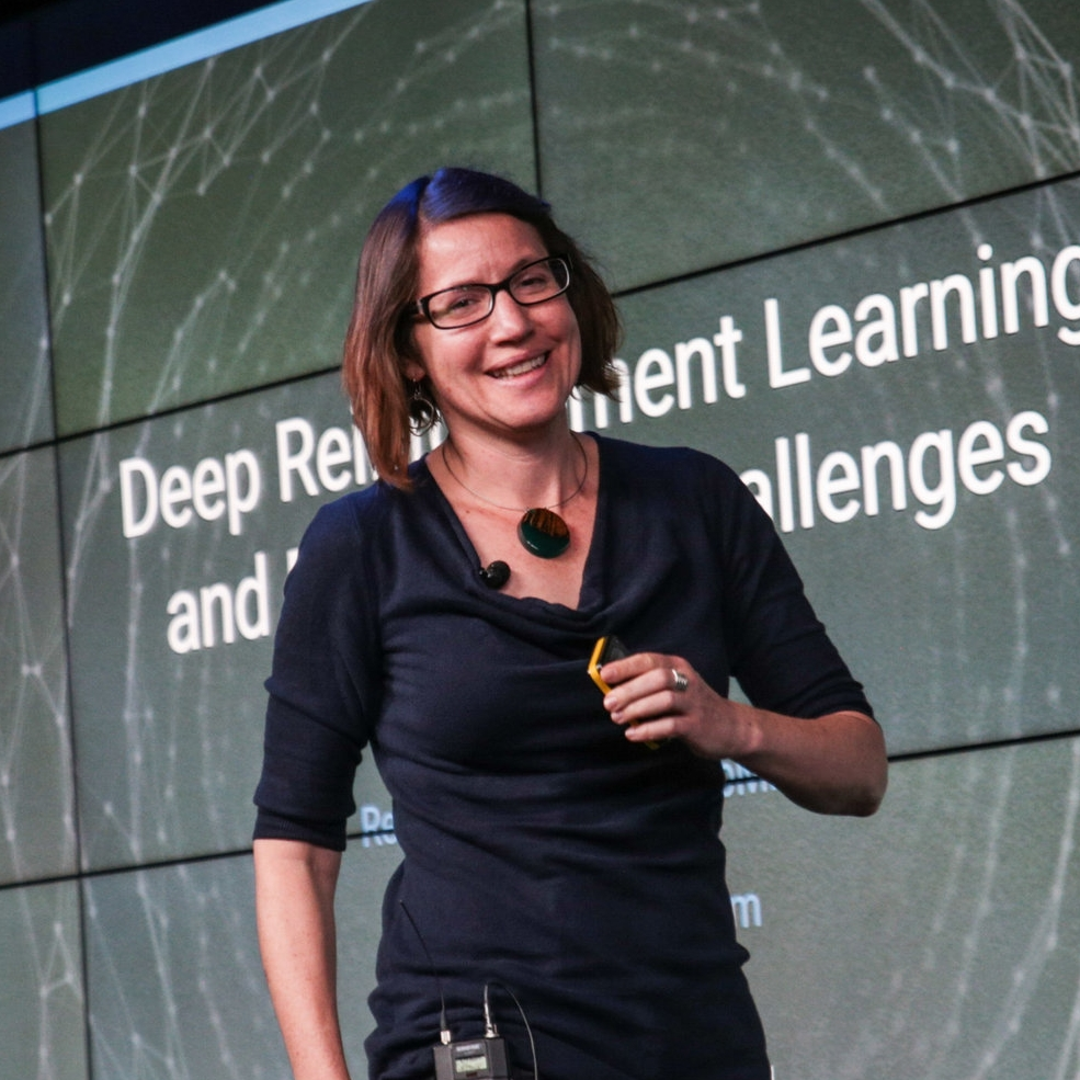 Raia Hadsell  - Senior Research Scientist at  DeepMind