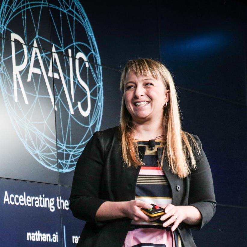 Sabine Hauert  - Asst. Professor in Robotics at  Uni. of Bristol