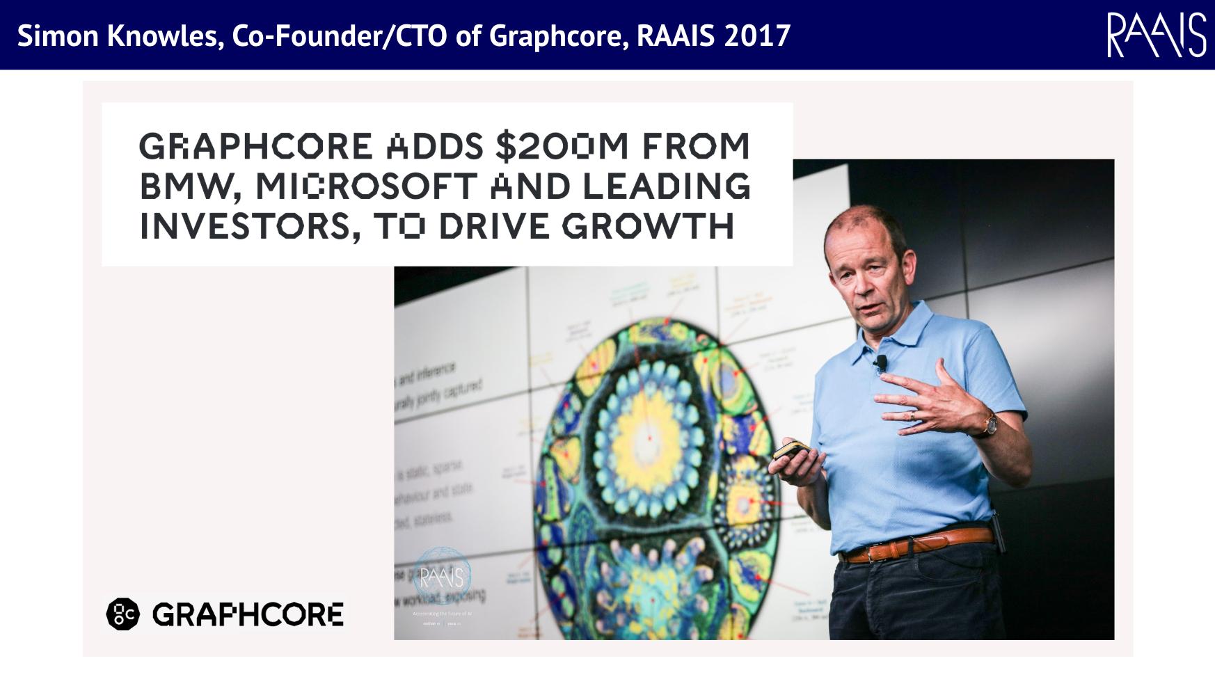 Simon Knowles, Graphcore, RAAIS 2017