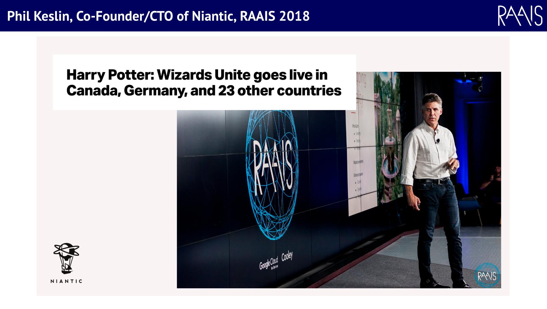 Phil Keslin, Niantic, RAAIS 2018