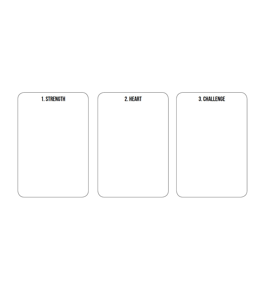 Three Card Spread Helpsheet -