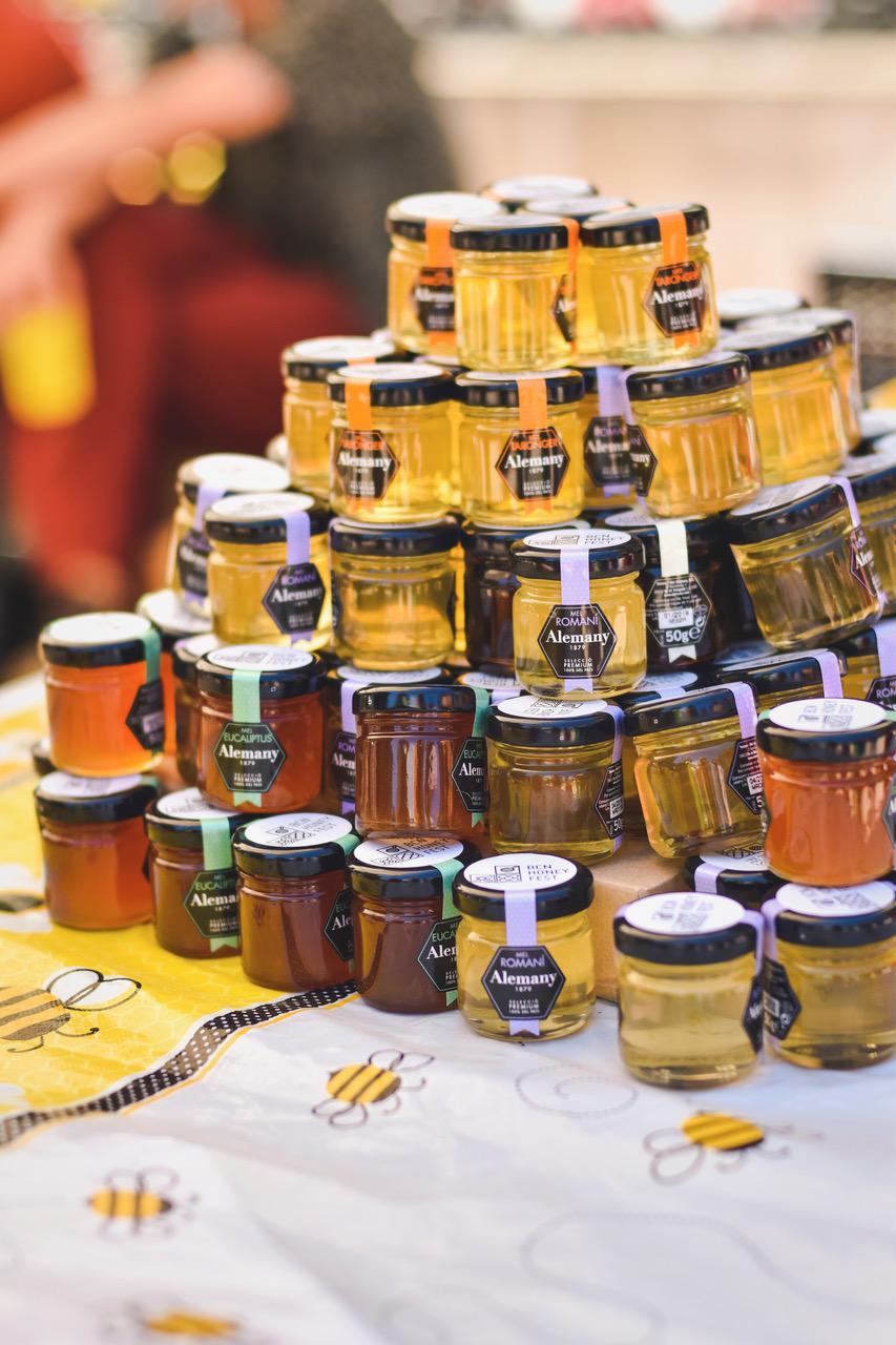 Regalos de miel de Alemany, BCN Honey Fest 2017, photo © Eva Barton
