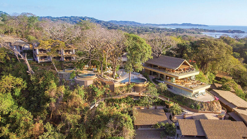 The spectacular Lagarta Lodge