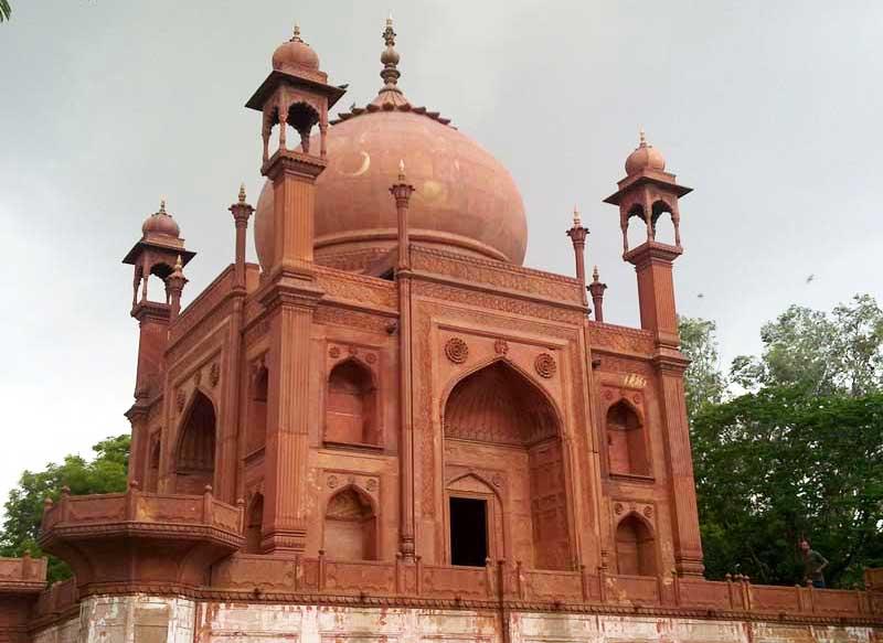 The Red Taj