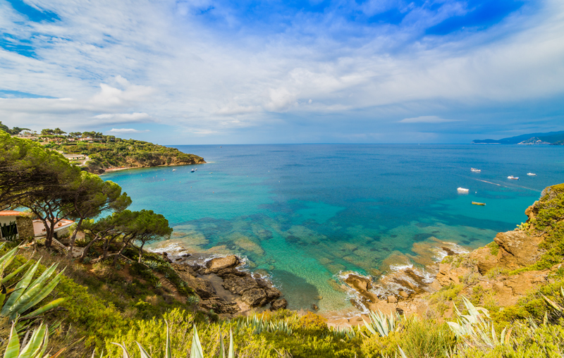 Elba beach