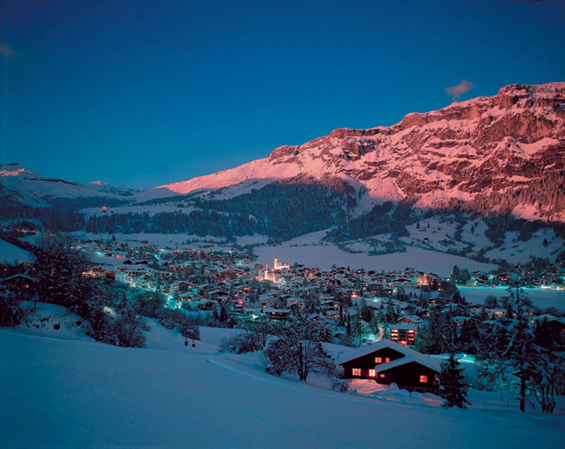 Flims at Night