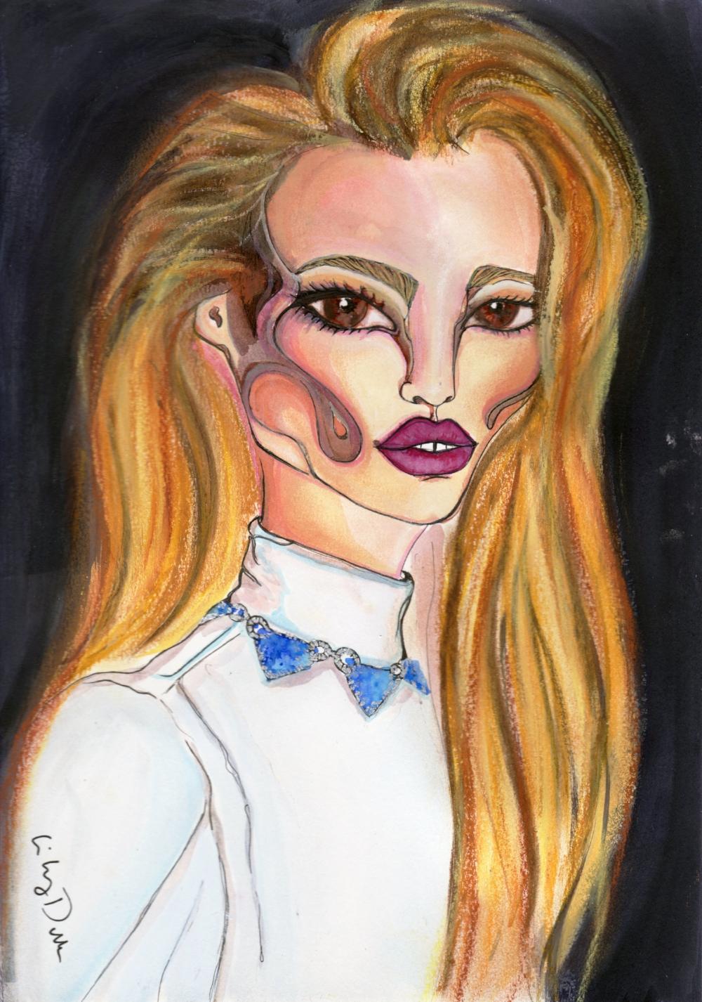 Lara Stone in Vogue Paris