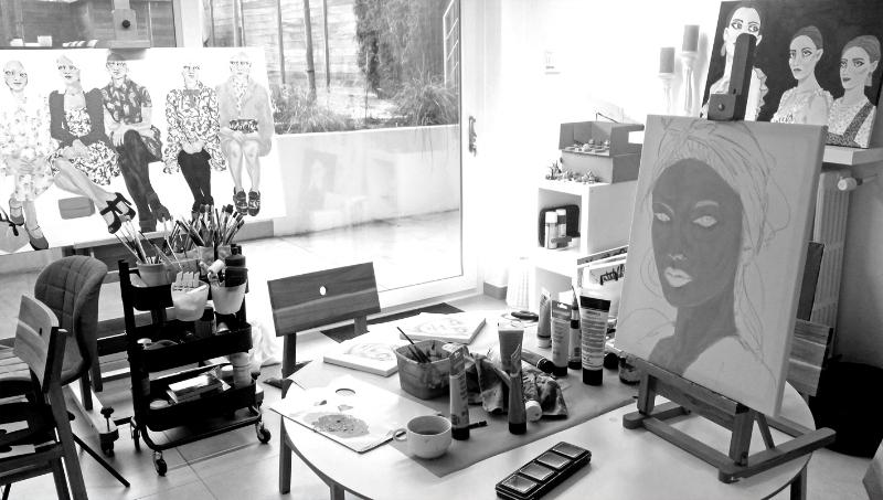 Studio of Vanessa