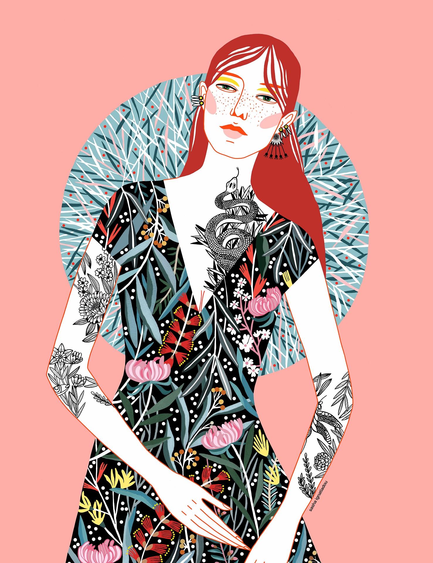 Sasha Ignatiadou @ iloveillustration.net
