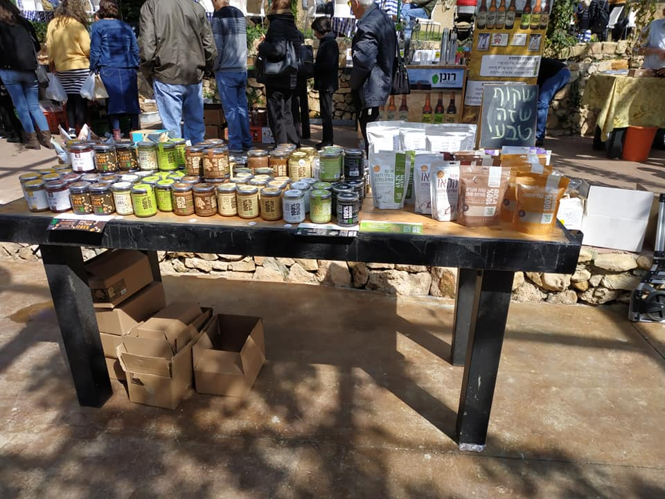 Shakoof products at a local farmers' market