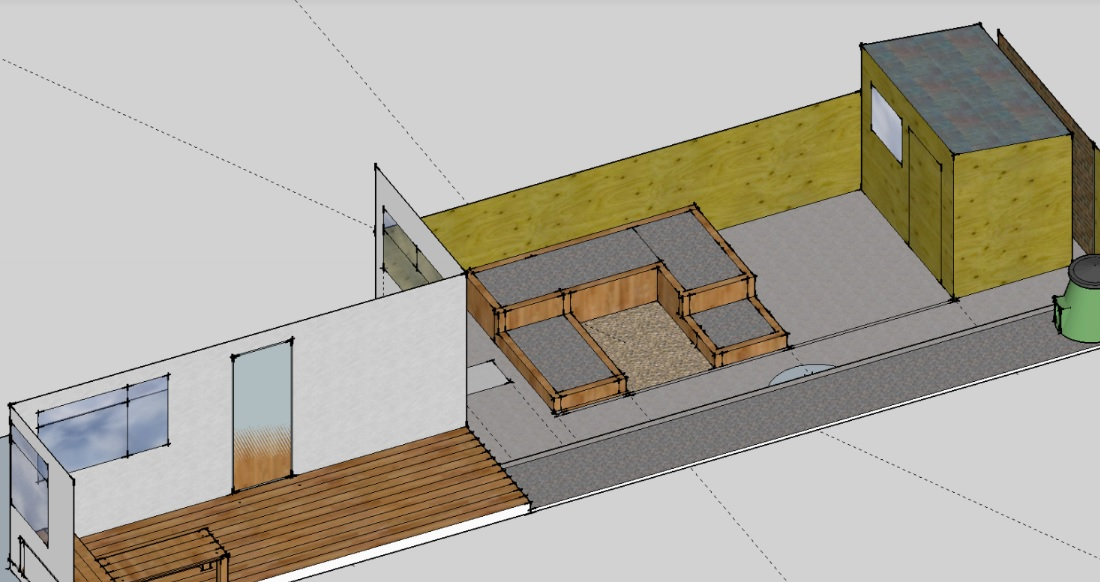 Dye Garden Plan for Bristol