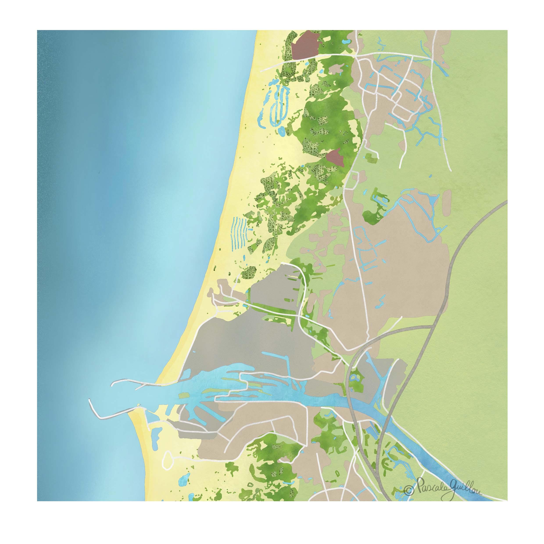 PWN Kaart Noordhollands Duinreservaat Hope & Glory  ©Pascale Guillou