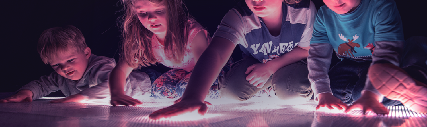 EXPERIENTIAL - ENGAGE WITH THE ACTIVEFLOOR THROUGH INTERACTIVITY