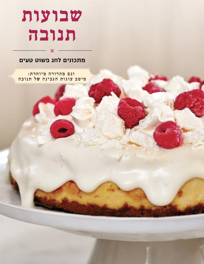 recipe developer - Shavu'ot recipe bookletTnuva 2105in collaboration with Lunchbox