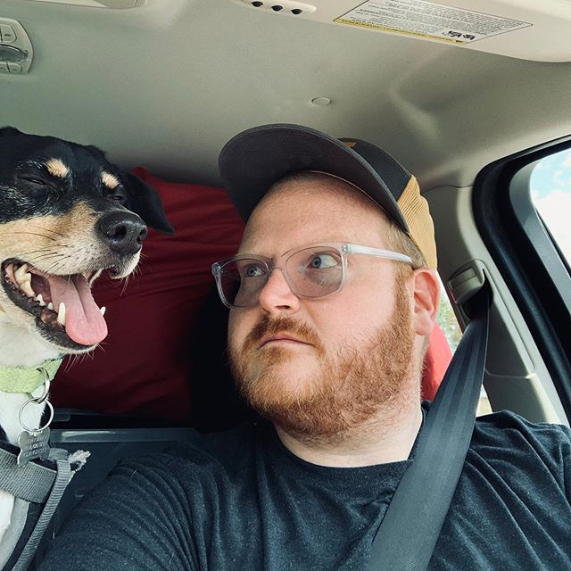 Just finished hour 1 of a 17-hour drive from MO to UT with my dog and cat. In the first hour my cat has wet her pants once, vomited twice, and my dog has farted roughly 937 times. Pray for me. #roadtrip #travelingwithpets