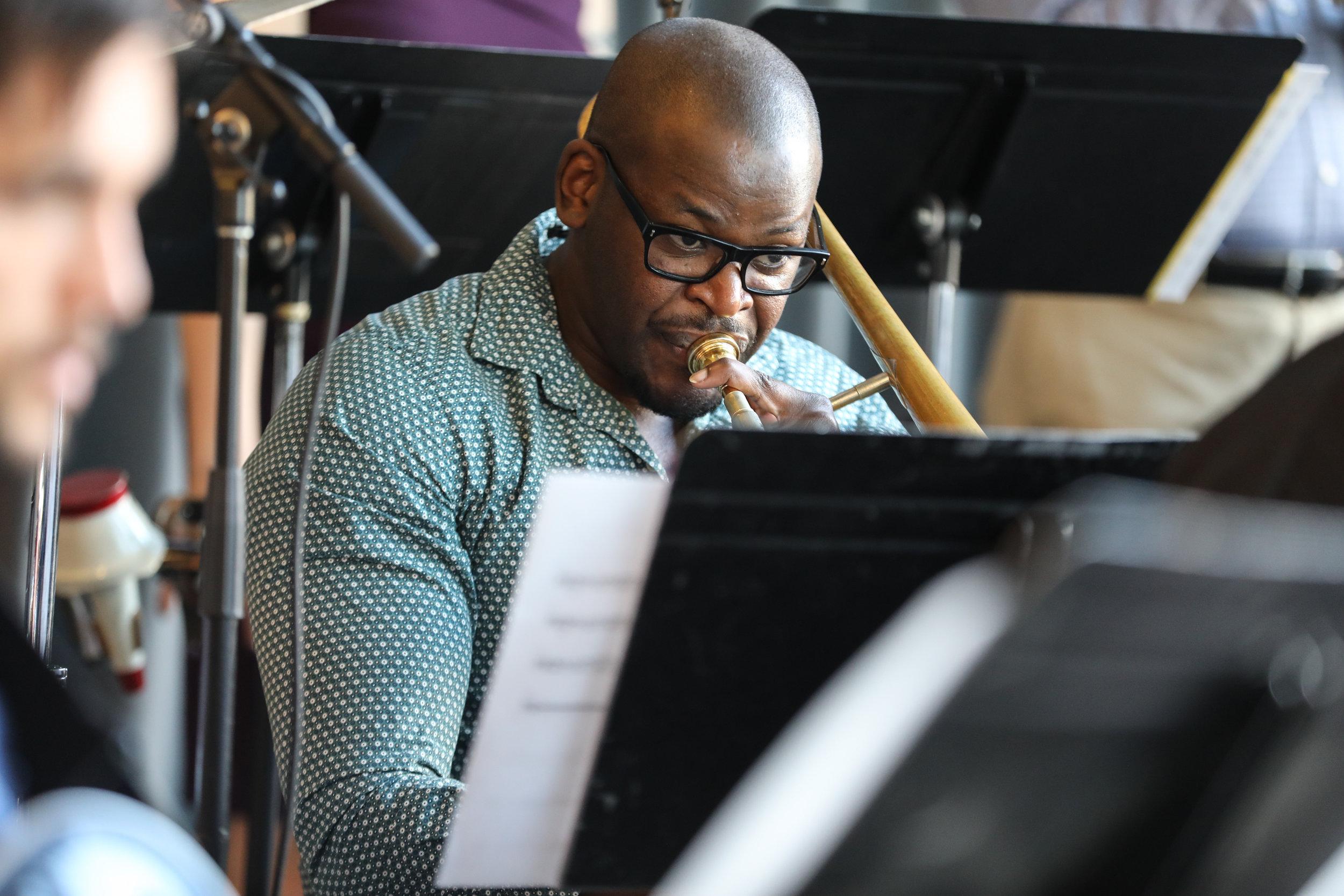 Ernest Stuart, trombone