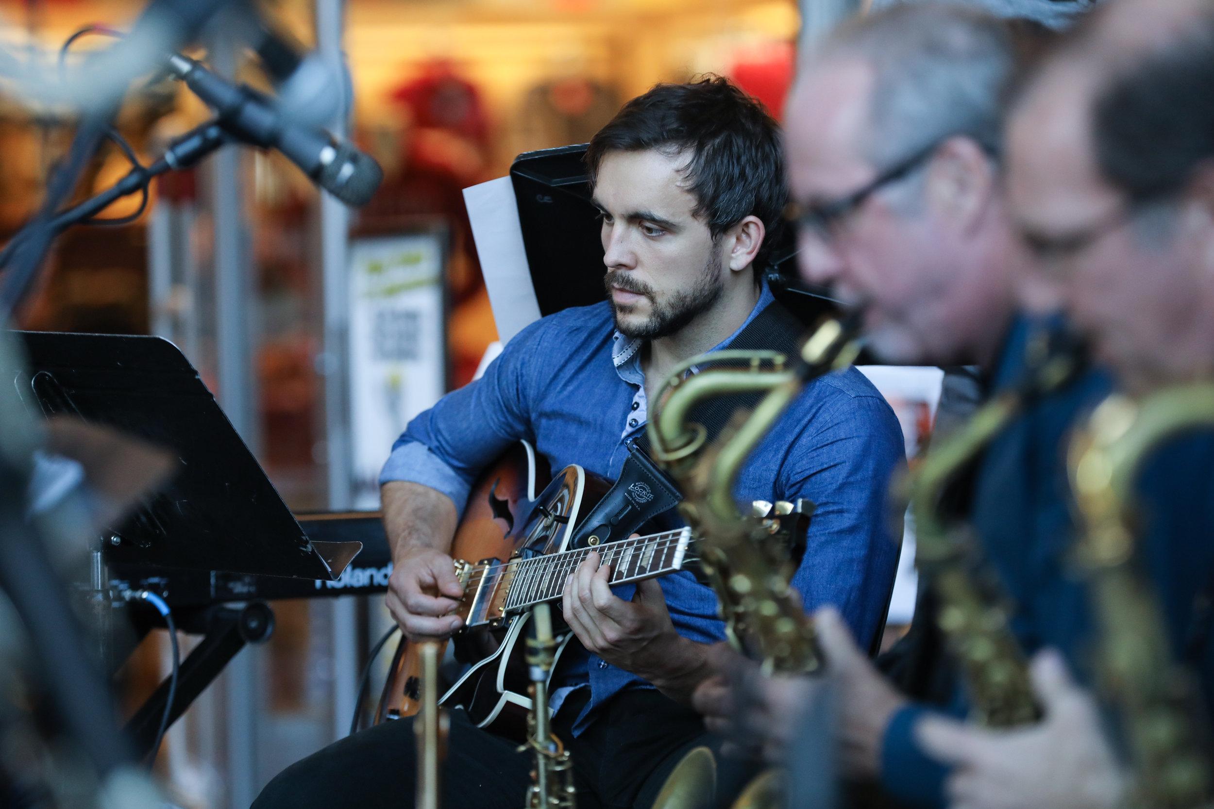 Joel Tucker, guitar