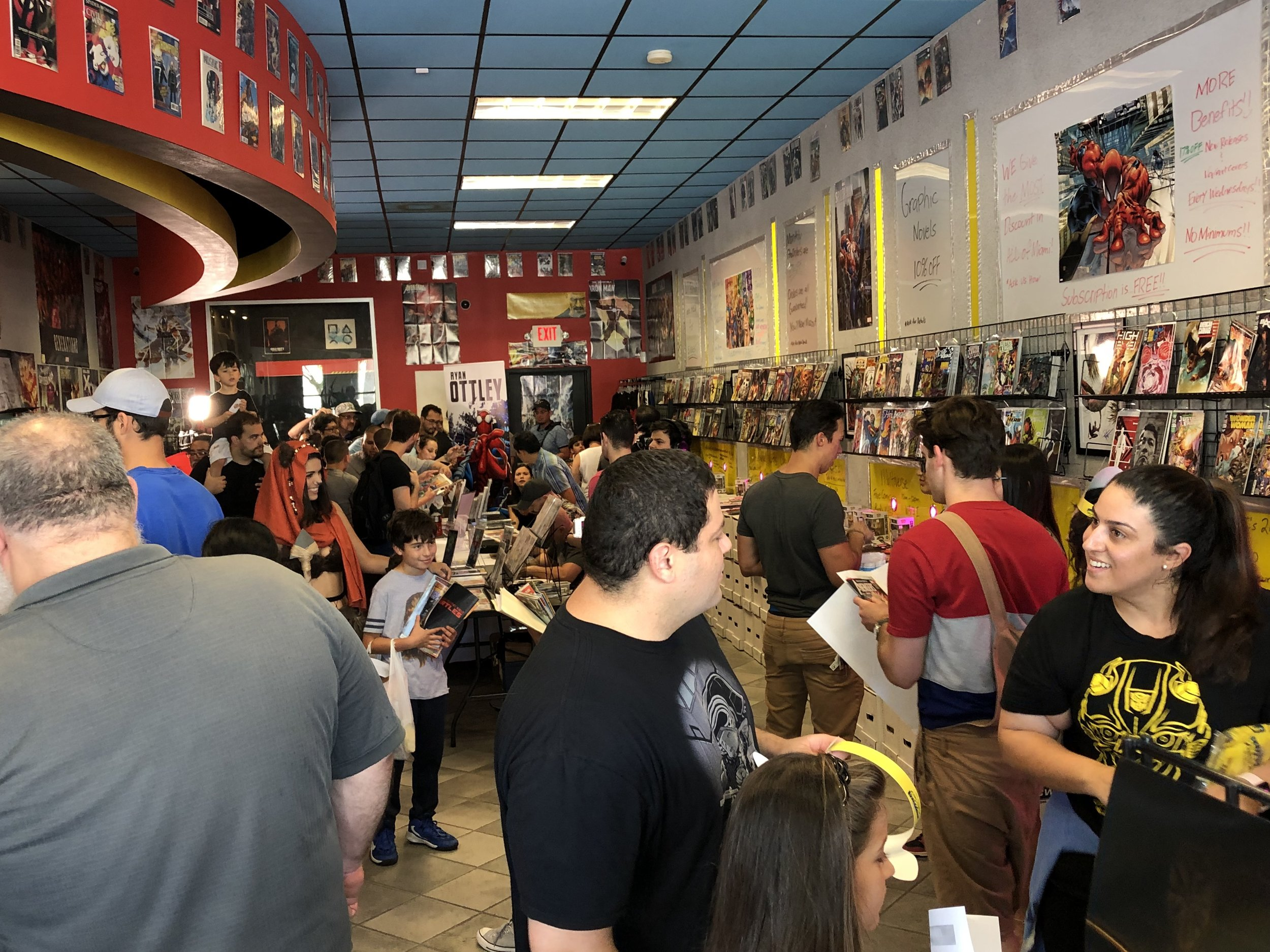 MCC's 2nd Annual: Miami's BIGGEST Free Comic Book Day 2019