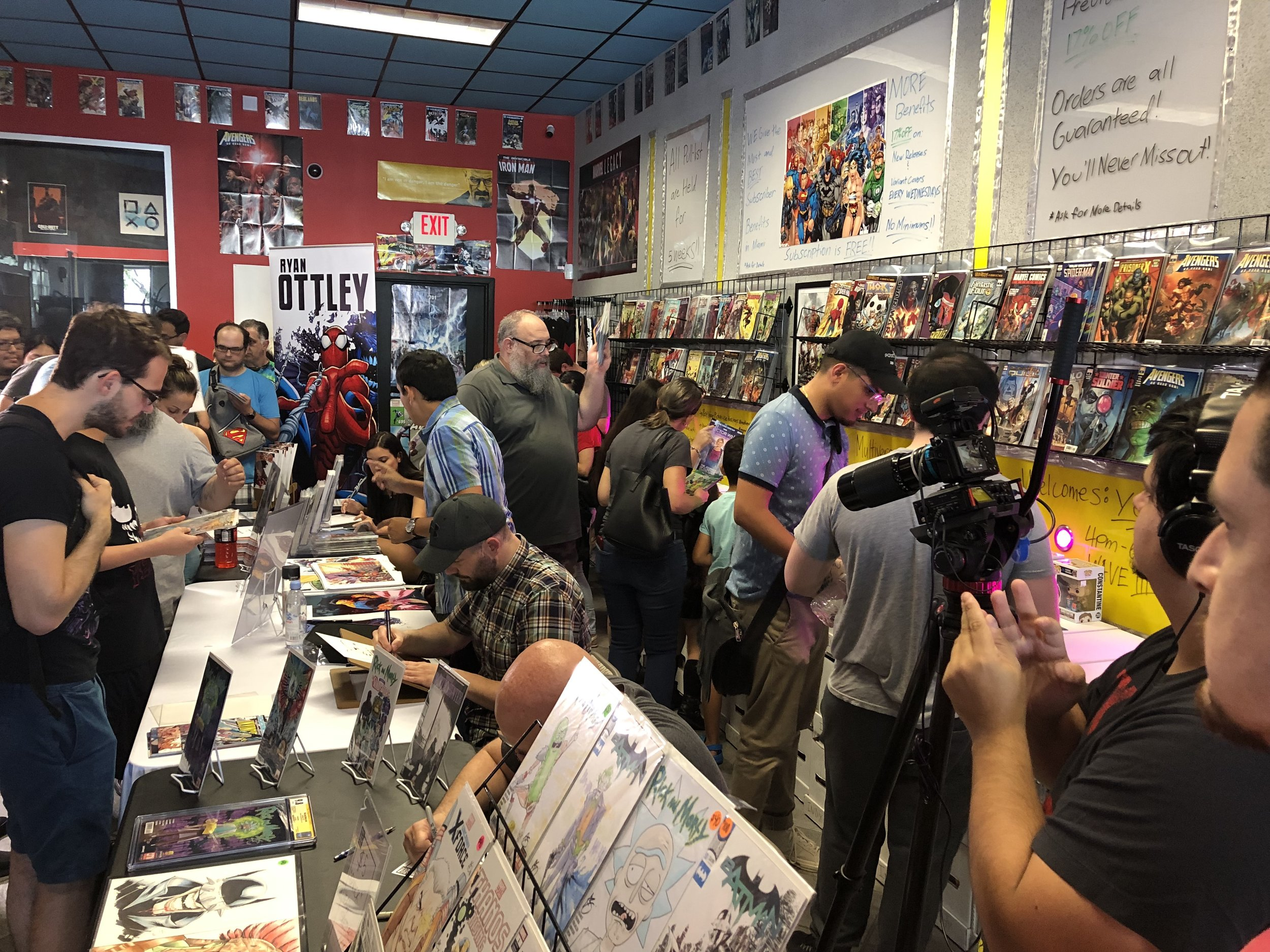 MCC is home of Miami's BIGGEST Yearly Free Comic Book Day