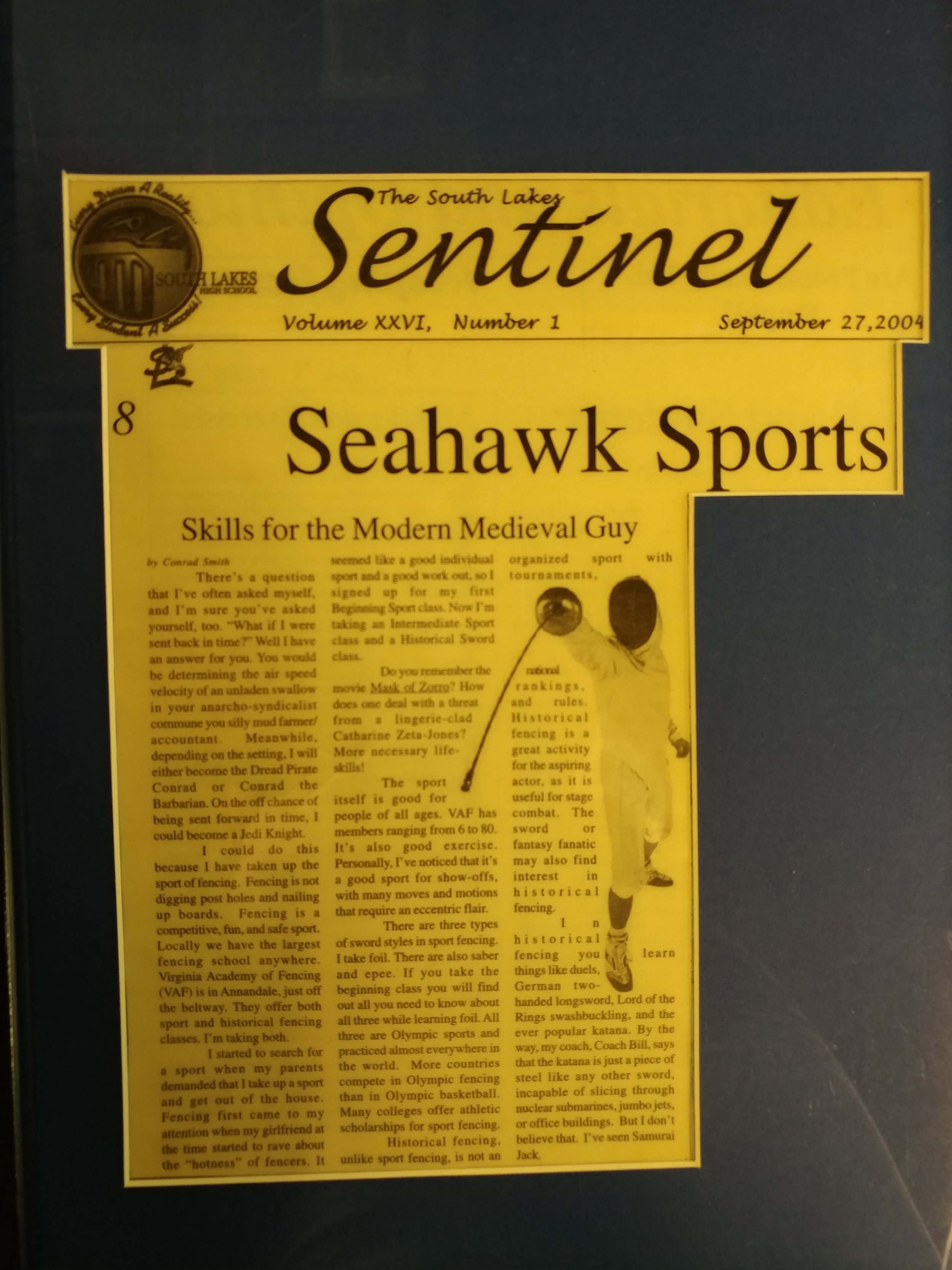 The South Lakes Sentinel