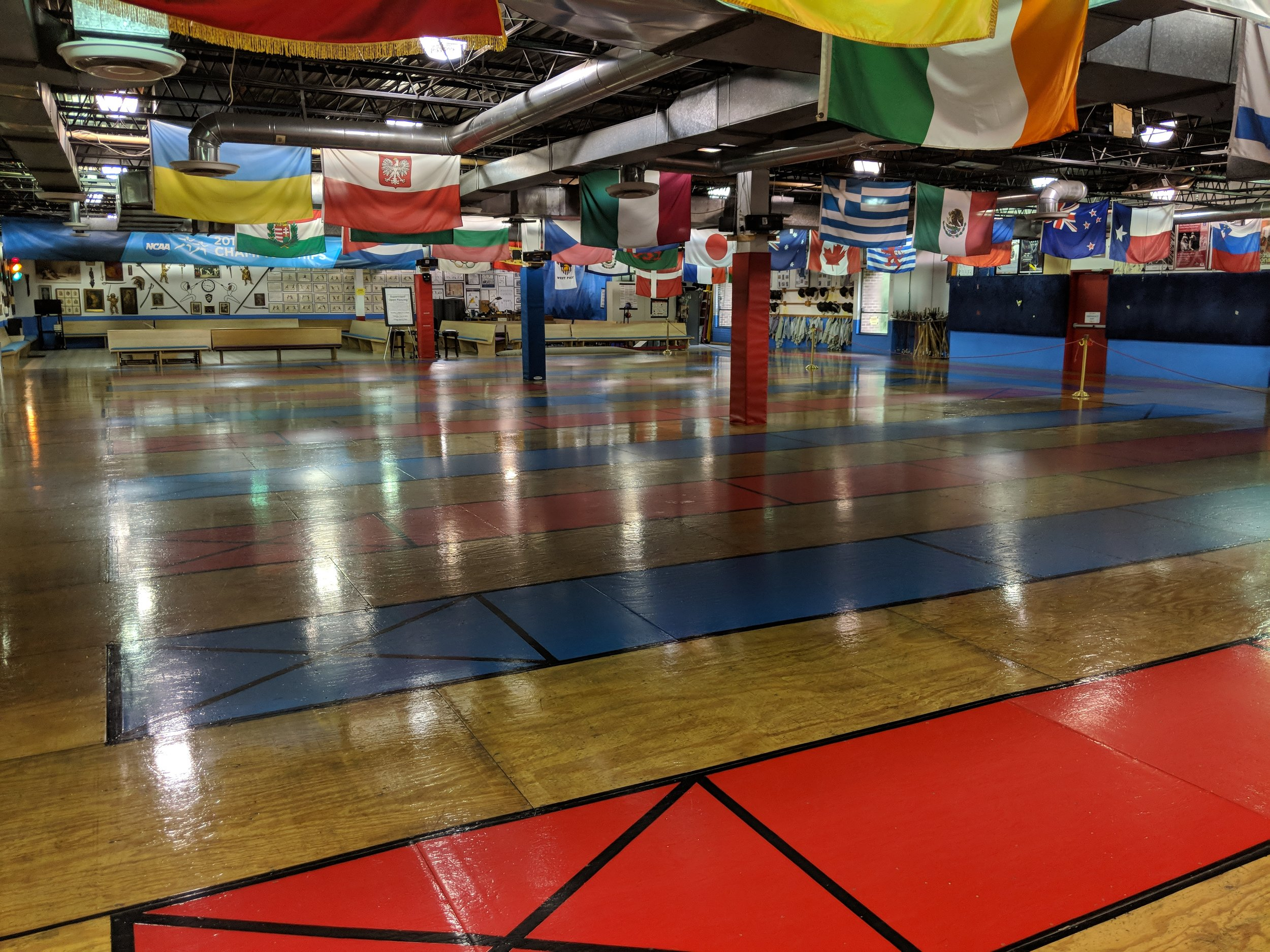 Fencing Floor