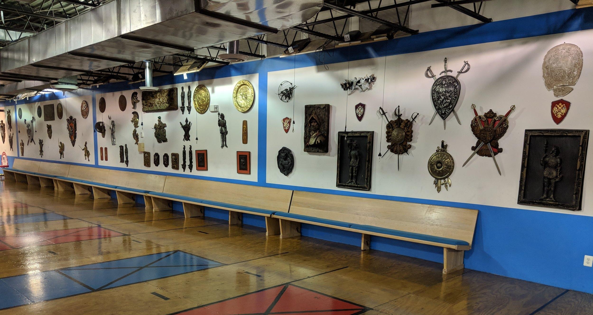 Side Decorative Wall